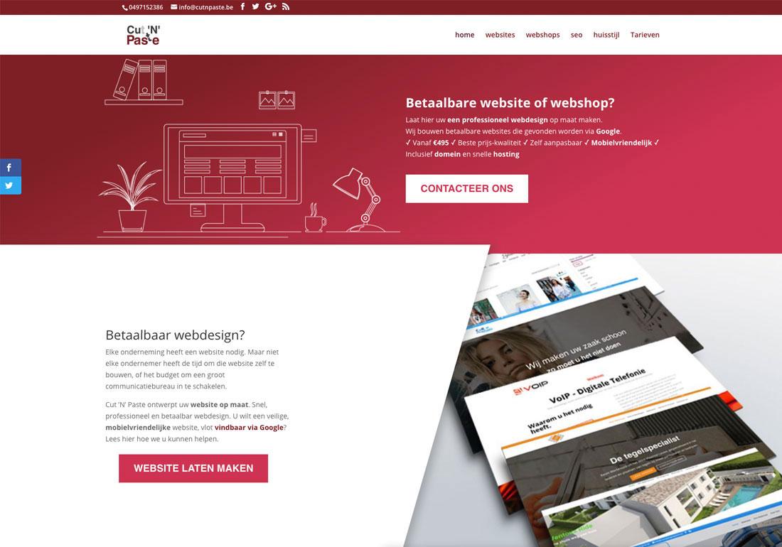 Cut 'N' Paste Webdesign & SEO