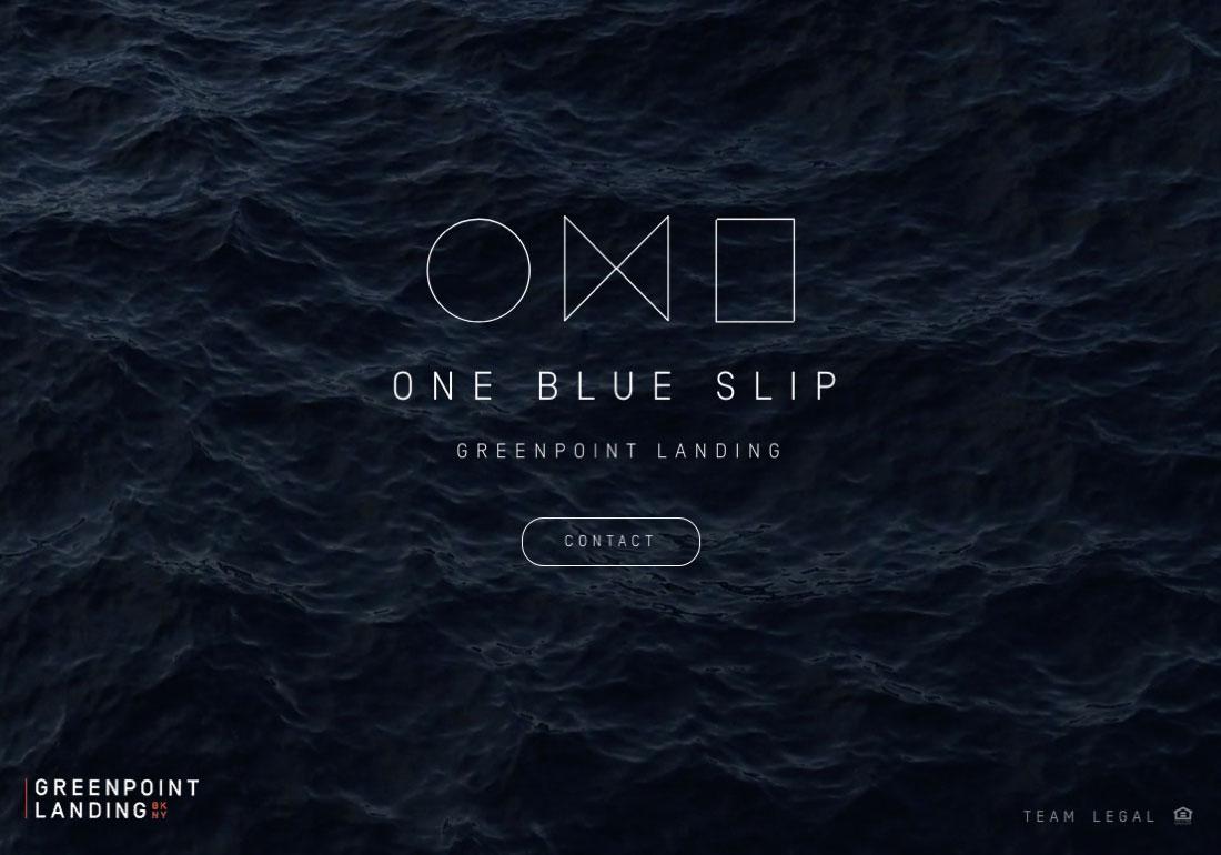 One Blue Slip