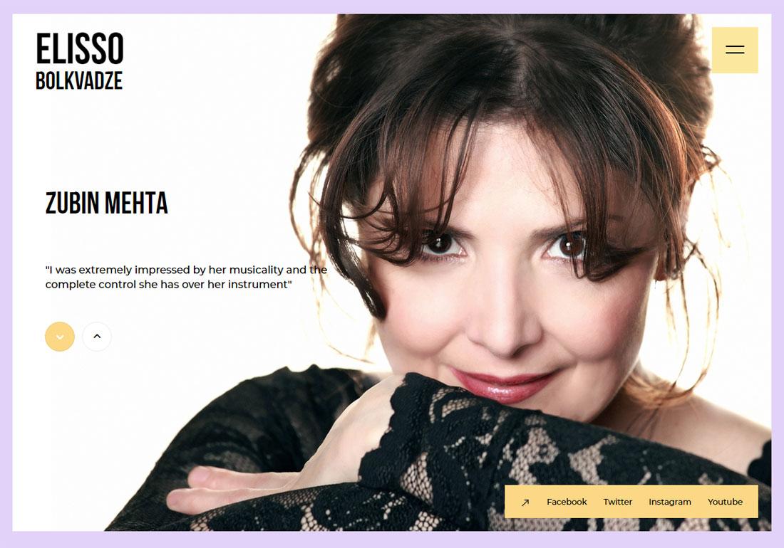 Elisso Bolkvadze's personal website