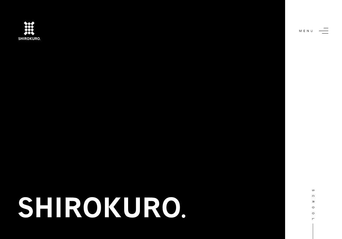 SHIROKURO WEB SITE