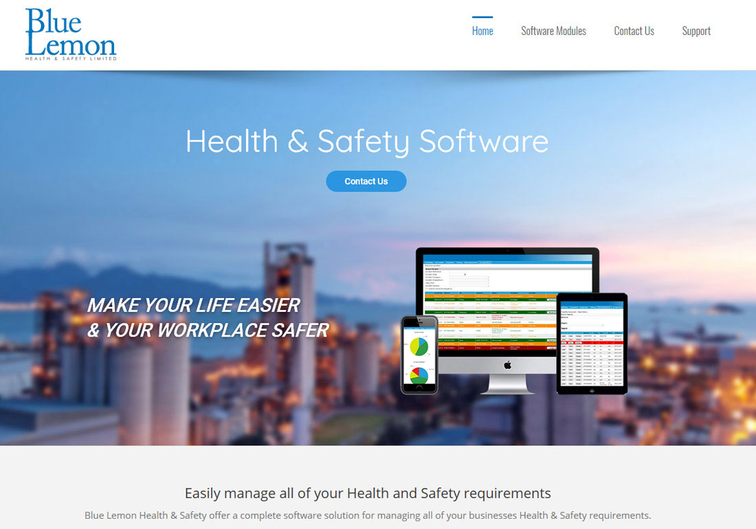 Blue Lemon Health & Safety Software