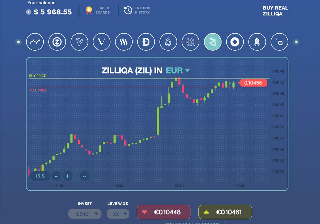 Bitcoin Flip- Bitcoin Trading game