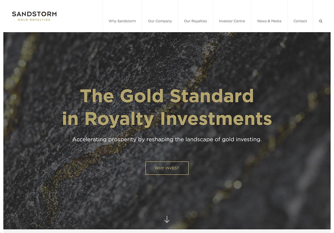 Sandstorm Gold Royalties