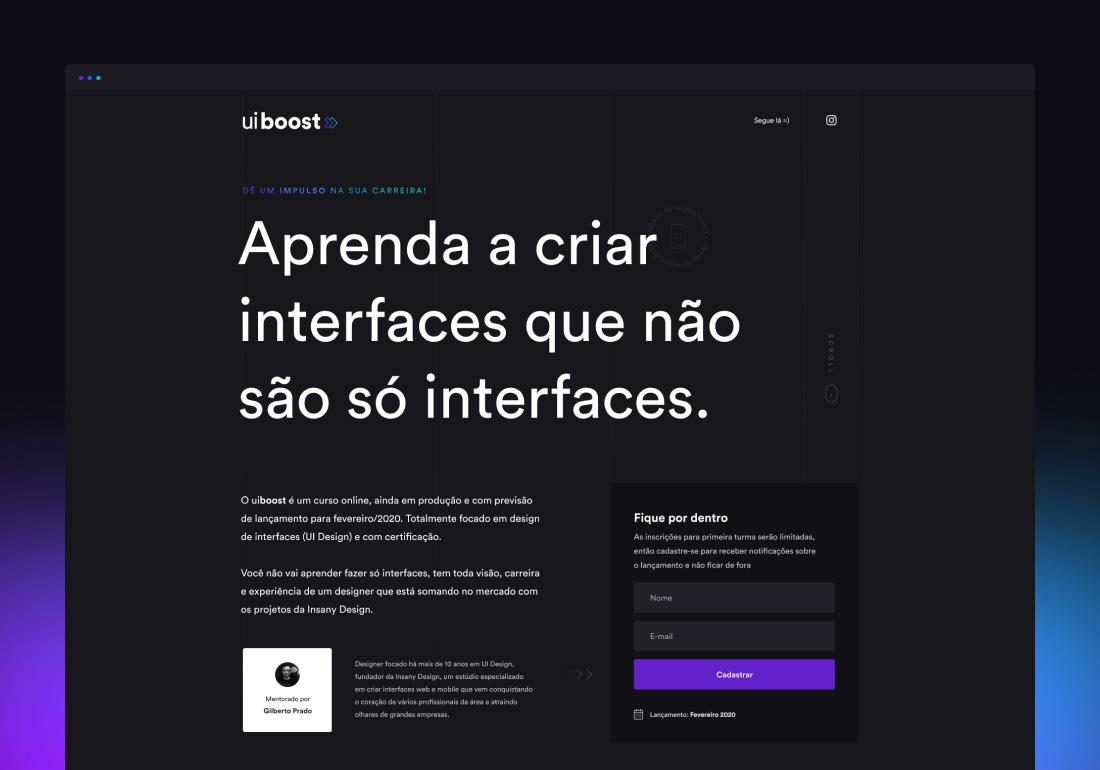 uiBoost - Online Course