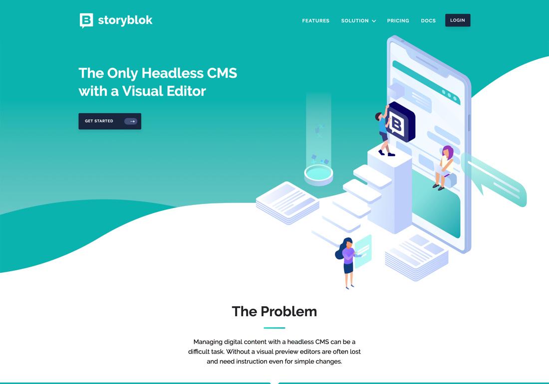 Storyblok - The headless CMS