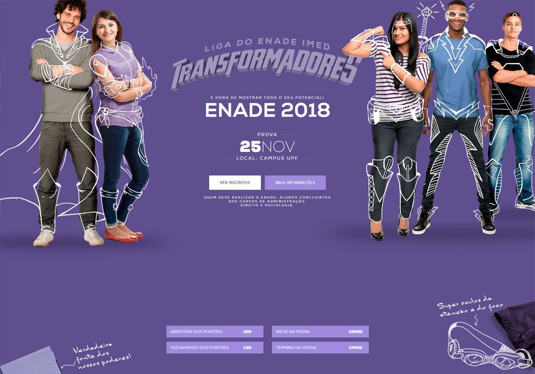 Liga do ENADE - Transformadores