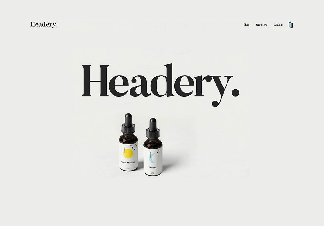 Headery - CBD oil