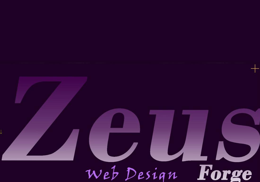 Zeus Forge Website Design
