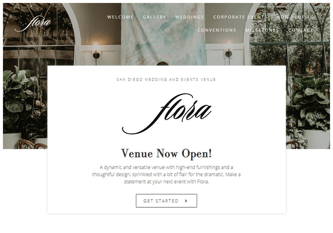 Flora The Venue