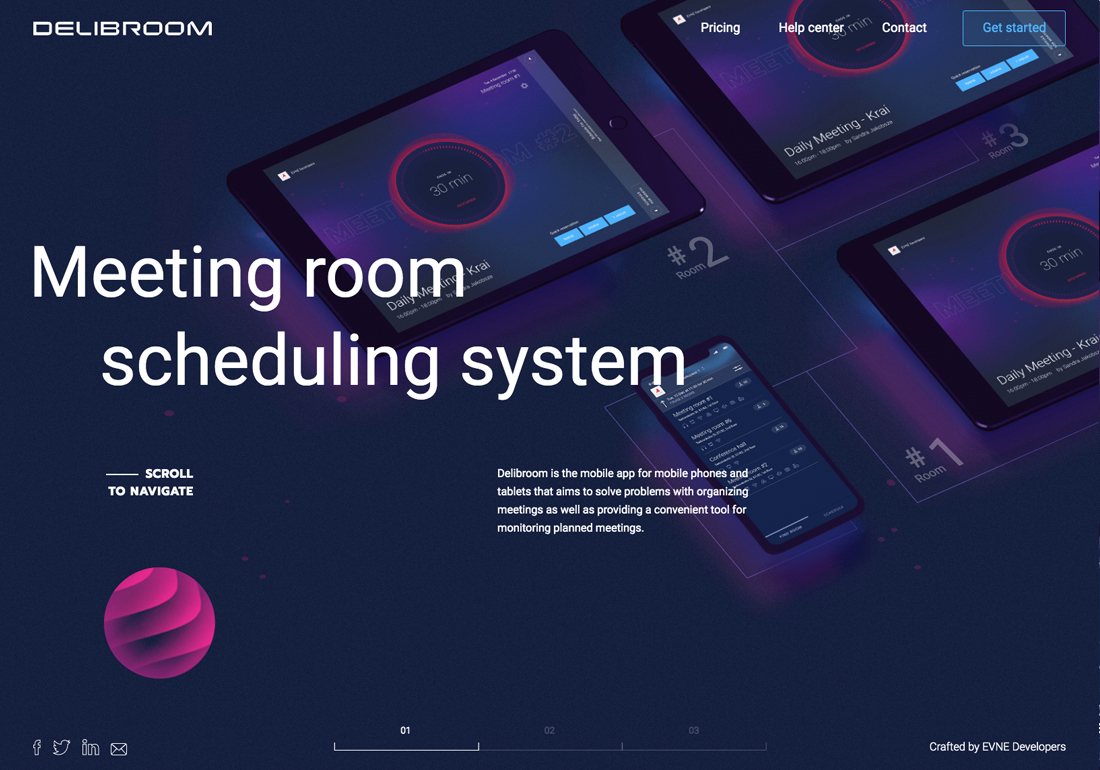 Delibroom - meeting room scheduling