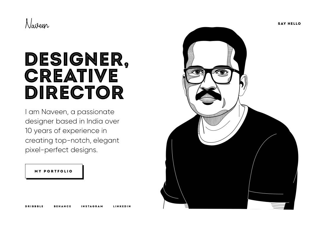Naveen | Designer,Creative Director