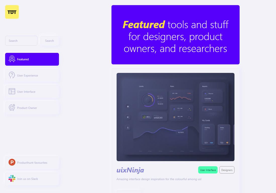 The Designer Tools