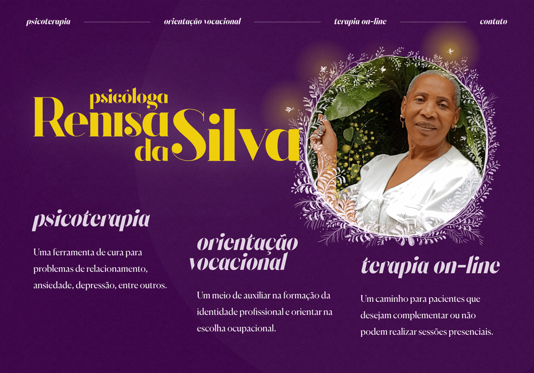Psicóloga Renisa da Silva