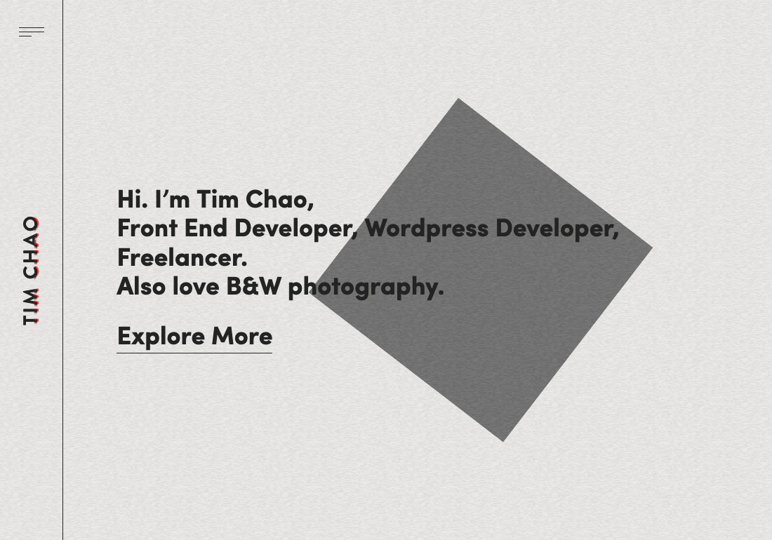 Tim Chao   Portfolio
