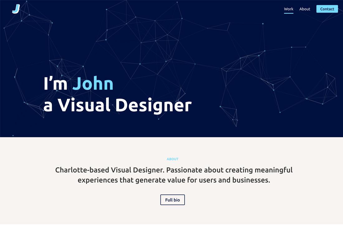 Johnathan Jackson - Portfolio