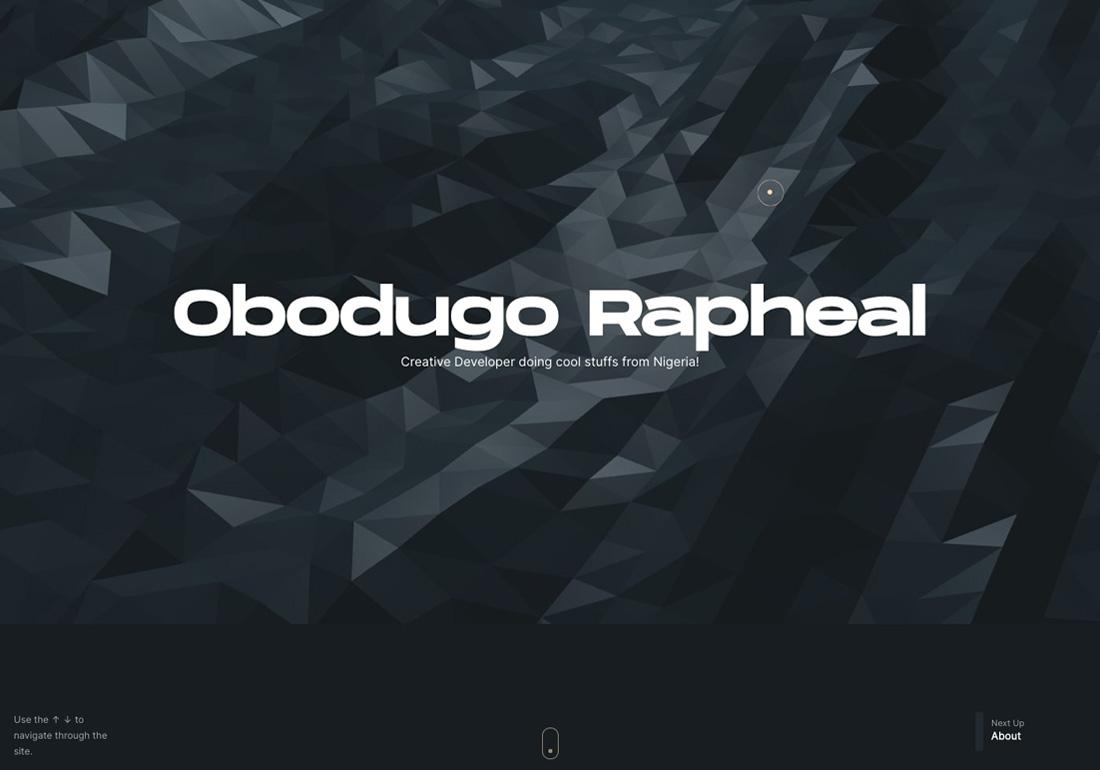 Obodugo Rapheal Portfolio