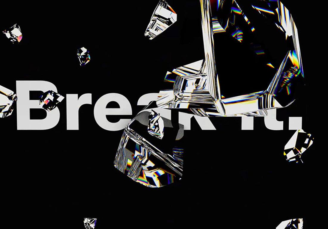 Break it.
