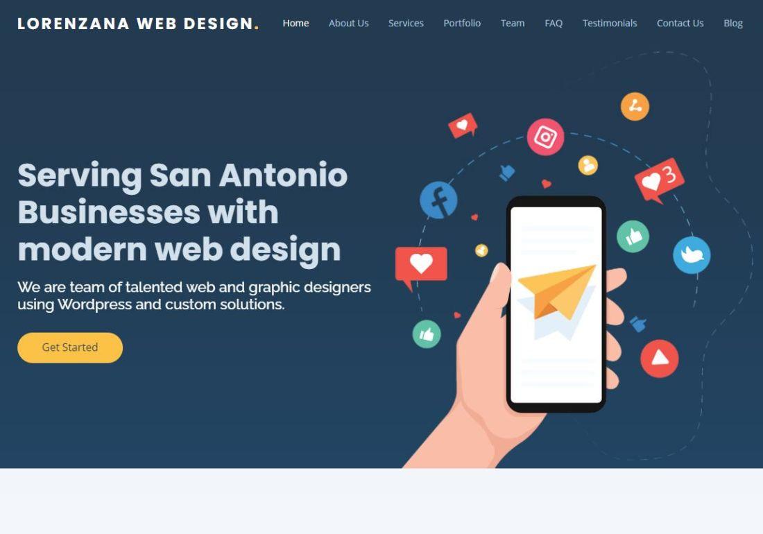Lorenzana Web Design