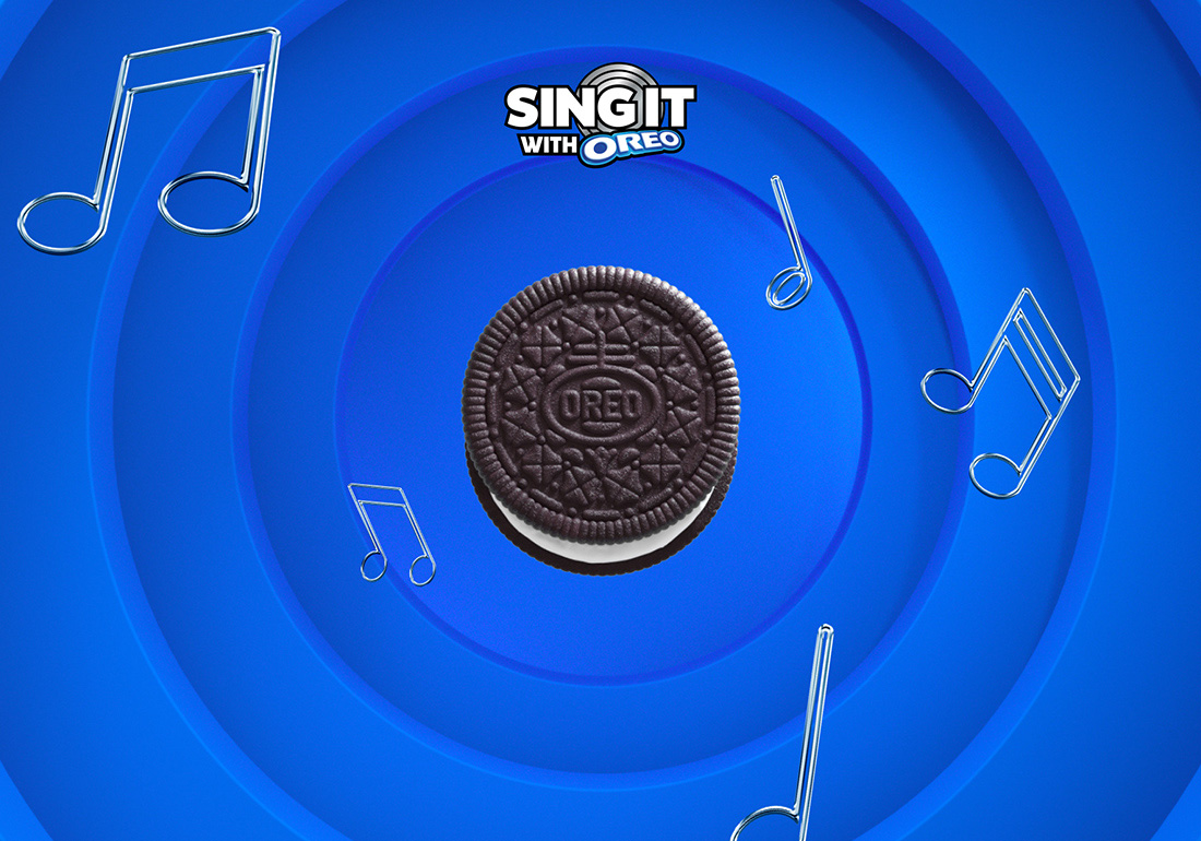 Sing it with Oreo