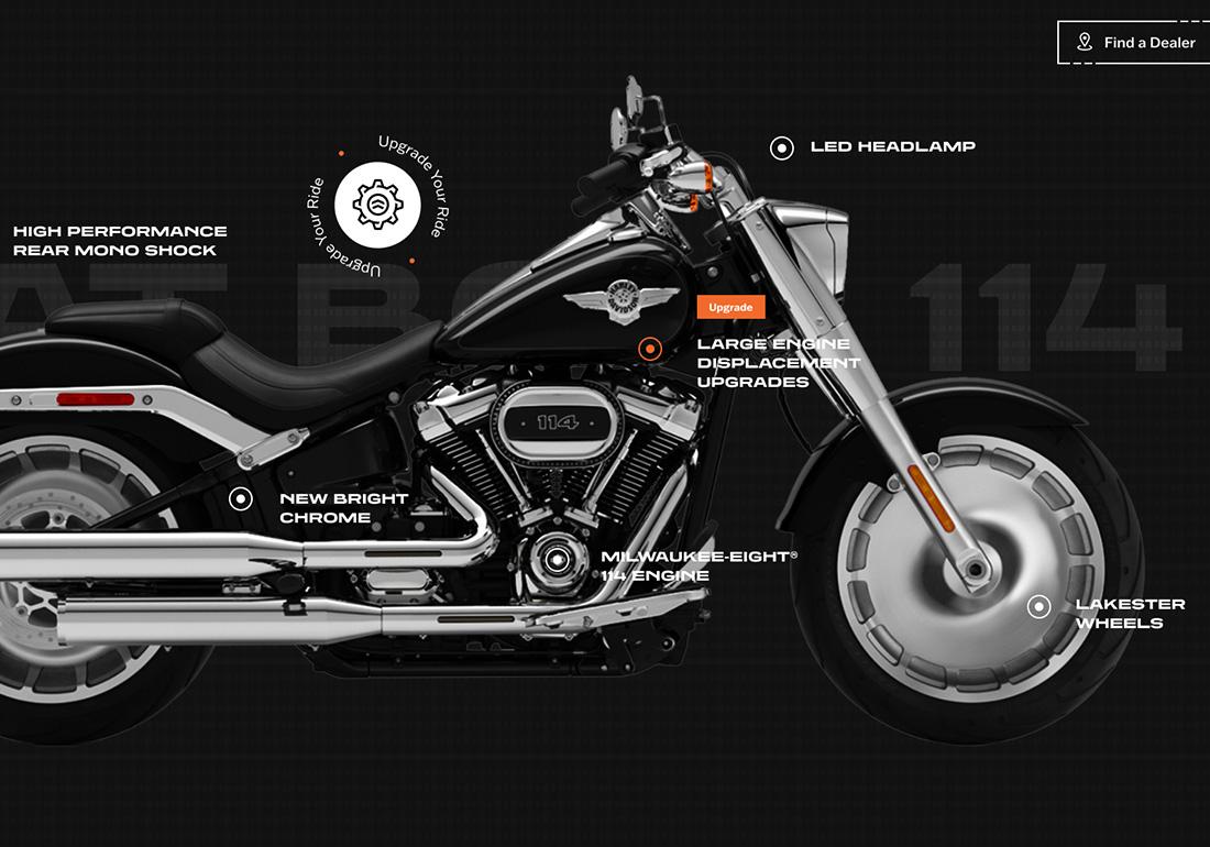 Harley-Davidson: H-D 21 Microsite