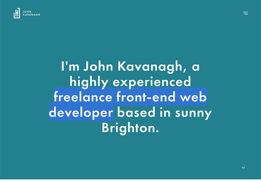 John Kavanagh: Freelance Developer