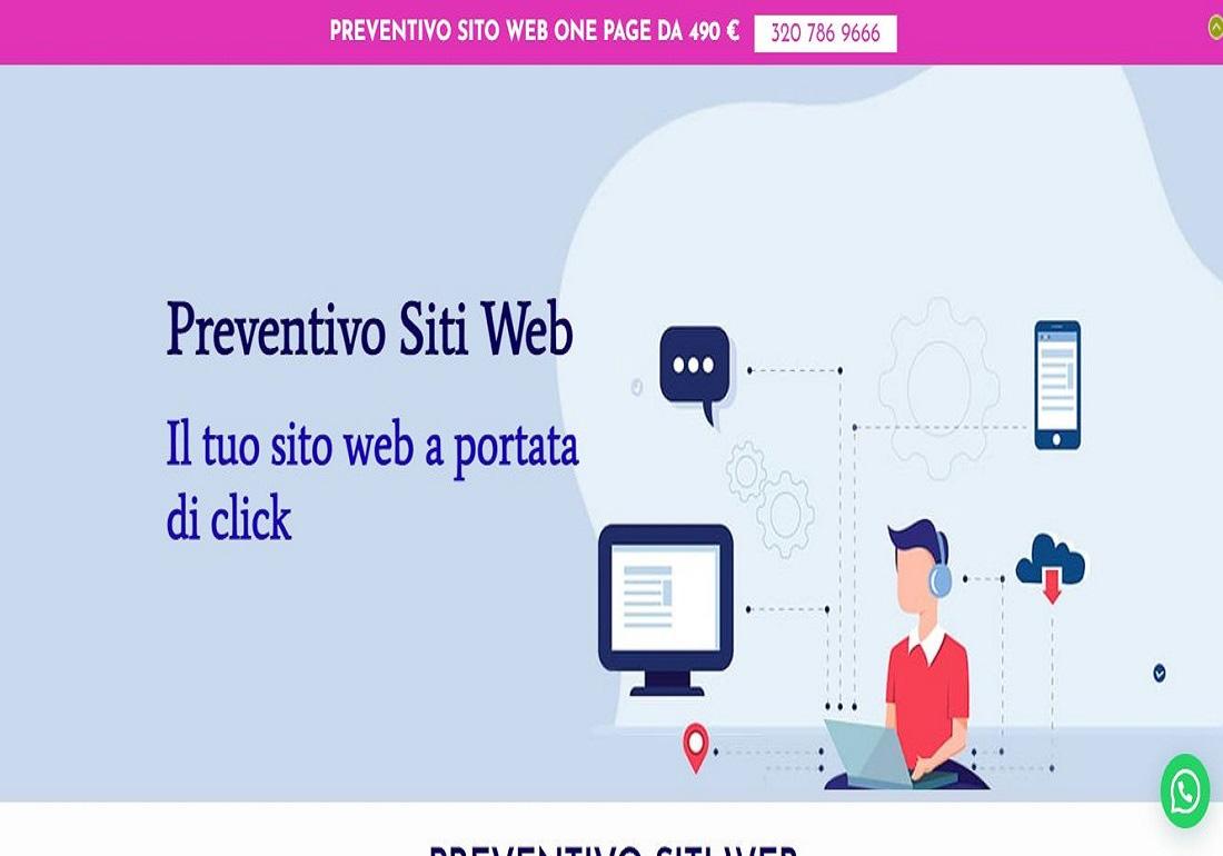 Preventivi Siti Web