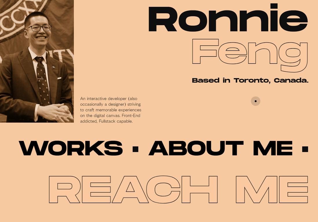 Ronnie Feng - Portfolio