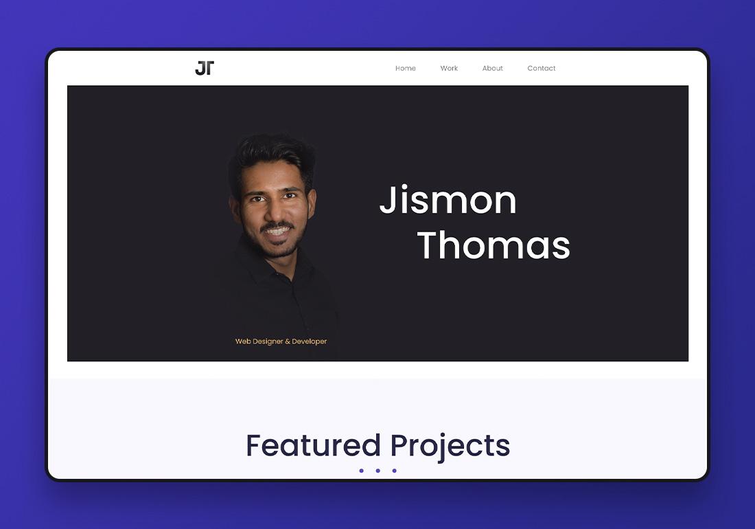 Jismon Thomas - Portfolio