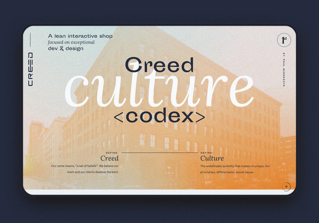 Creed Culture Codex