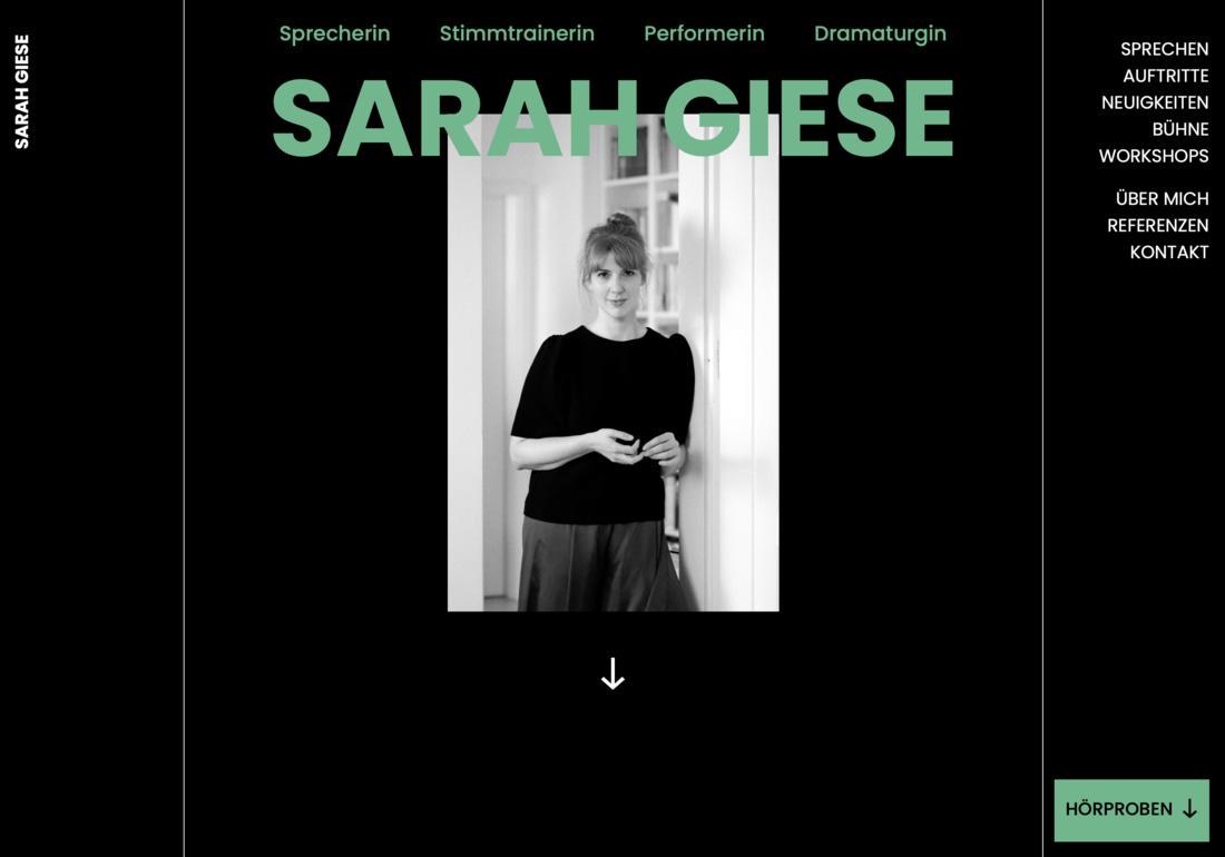 Portfolio of Sarah Giese