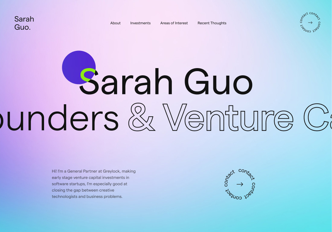 SarahGuo.com
