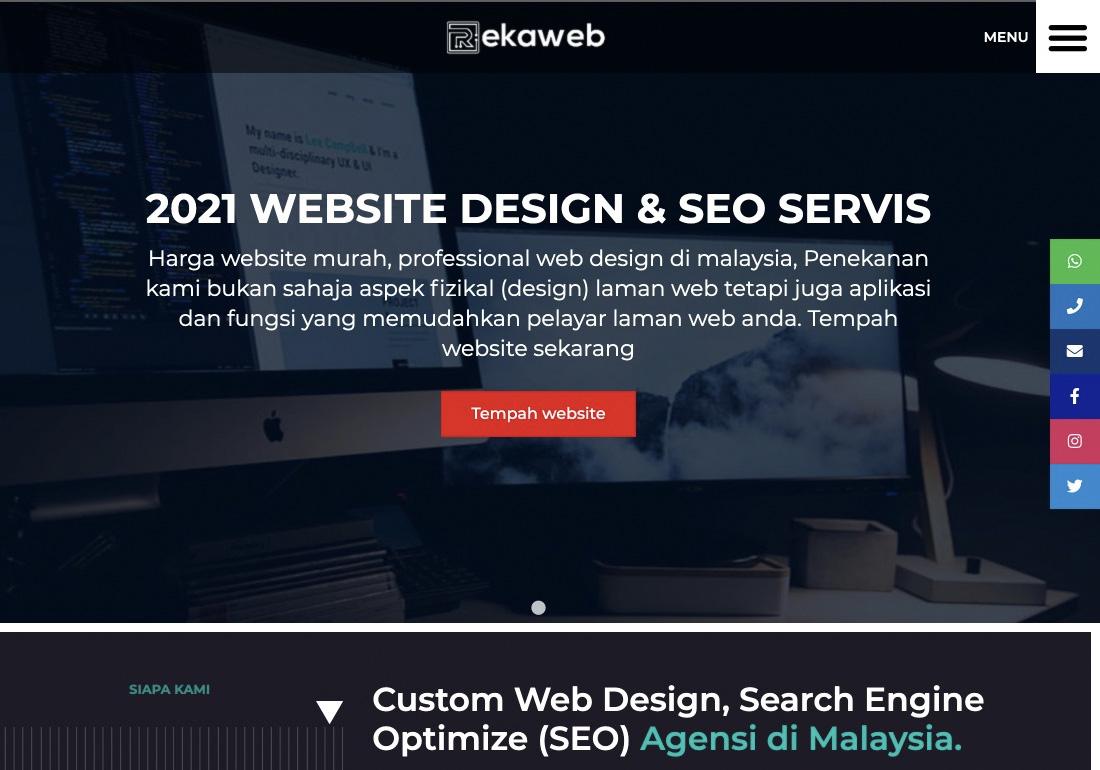 Rekaweb Web Design Malaysia