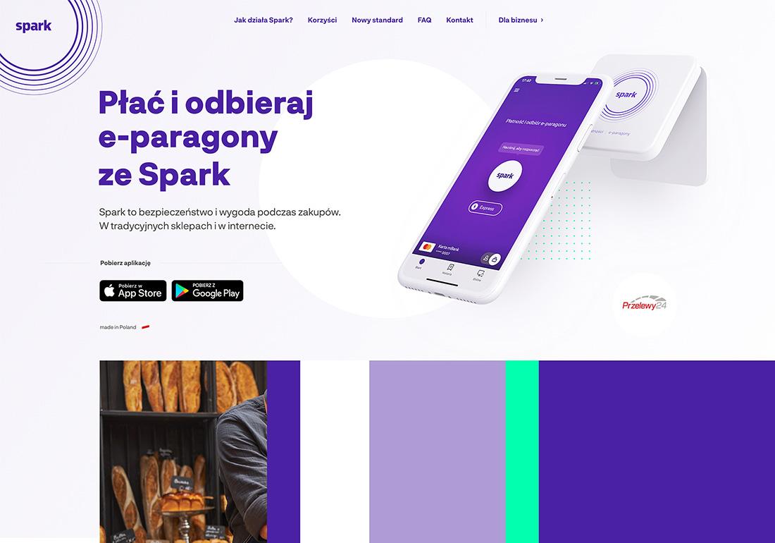 Spark - Pay & receive e-receipt