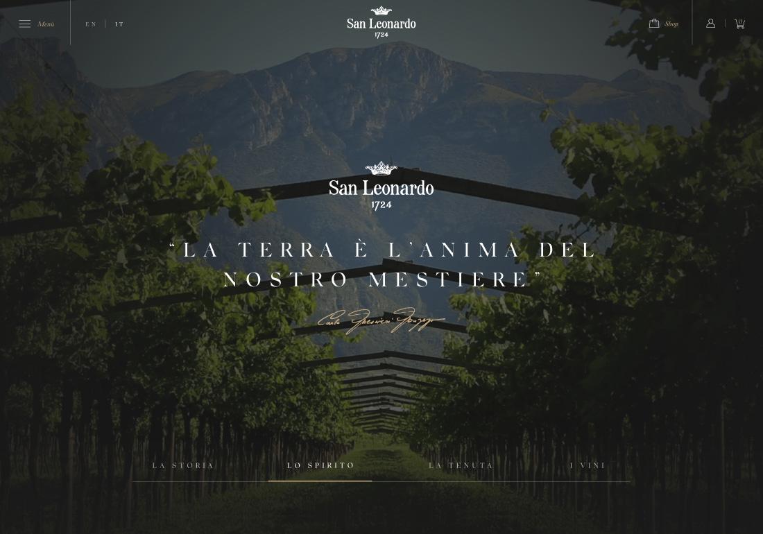 San Leonardo 1724