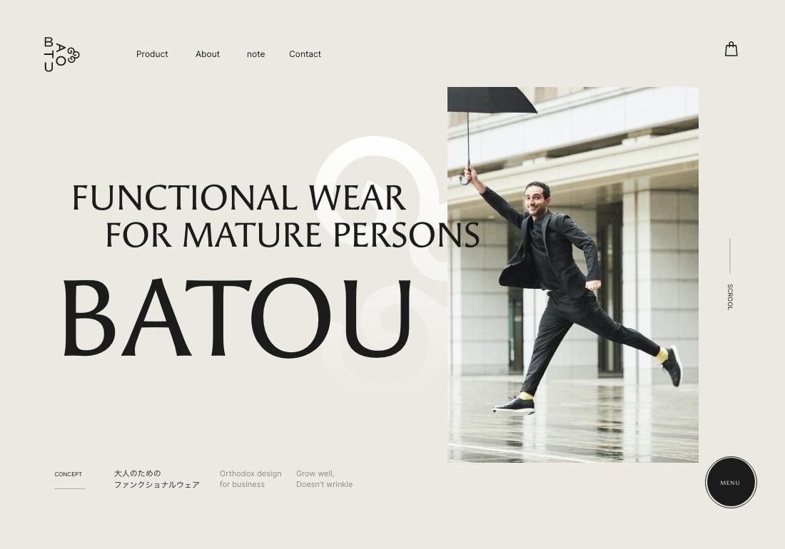 BATOU     FUNCTIONAL WEAR