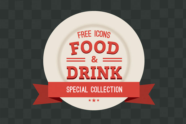 icons drink vector shopping