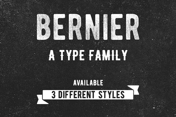 Bernier free fonts