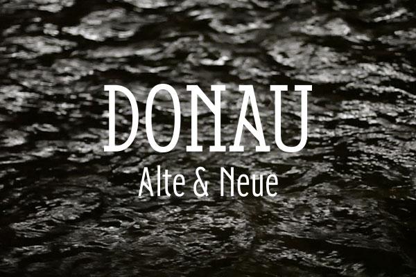 Donau free font