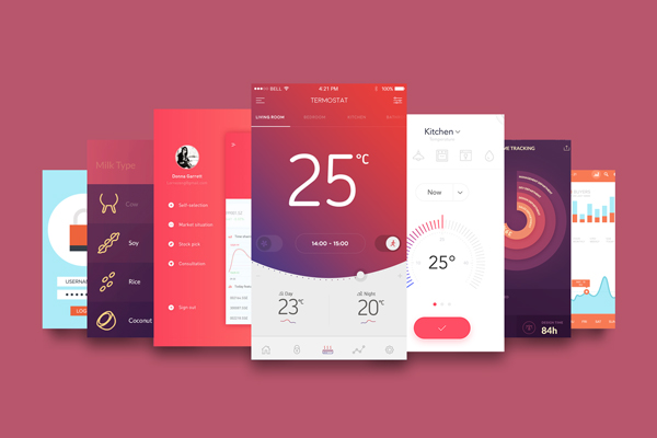 10 best resources for mobile app design inspiration - Cool home decor websites model ...