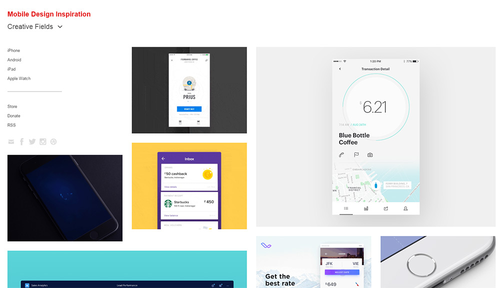 10 Best Resources For Mobile App Design Inspiration