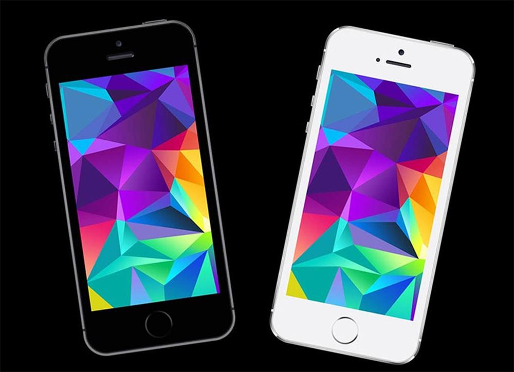 Basic iPhone SE Mockup