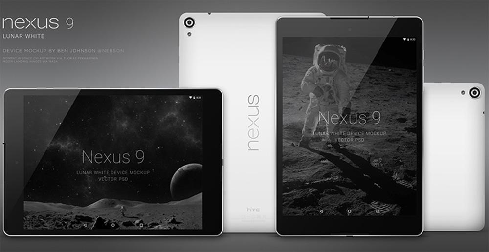 nexus 9 lunar device psd