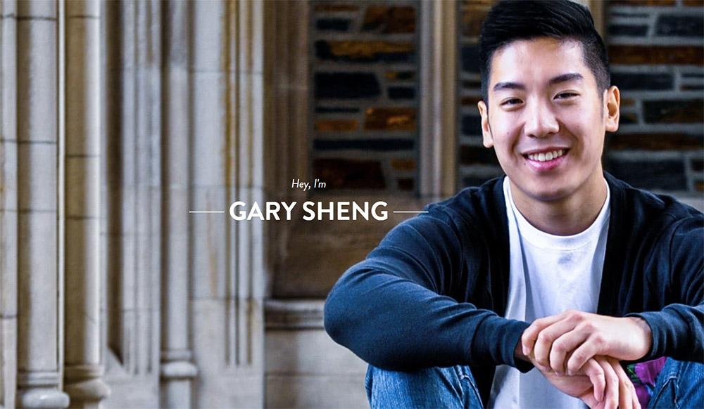 Gary Sheng portfolio