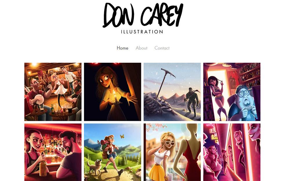 Don Carey portfolio