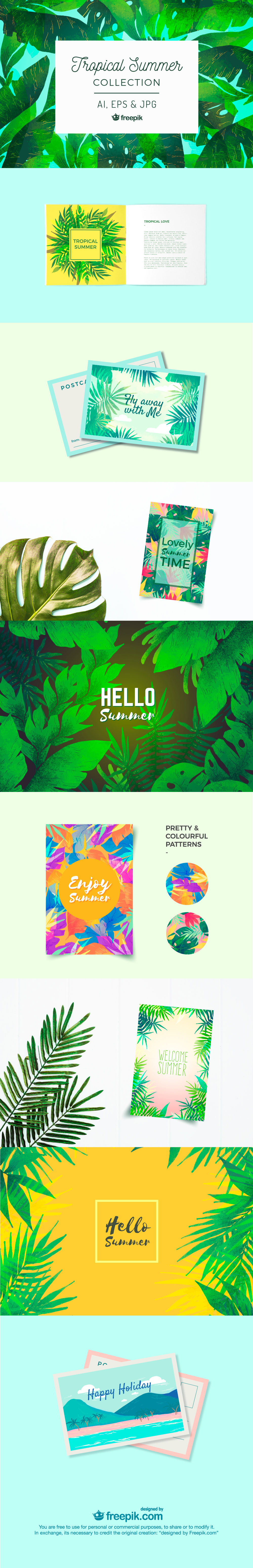 Tropical Summer Collection