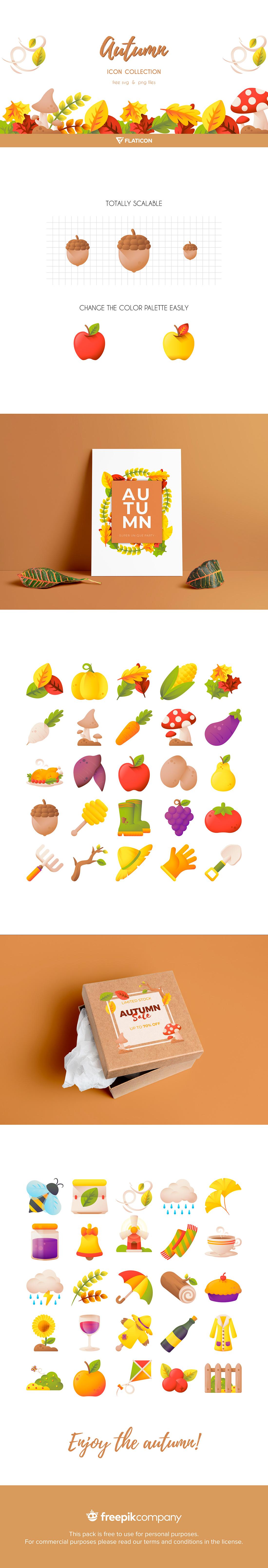 Autumn Icon Collection