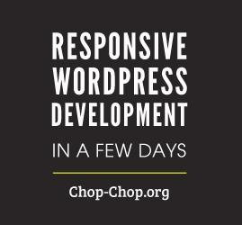 PSD to Responsive WordPress