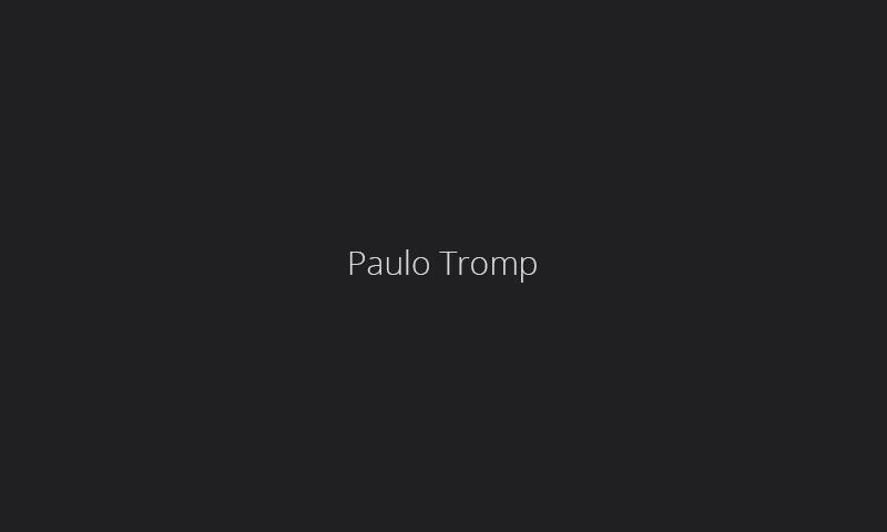 Paulo Tromp