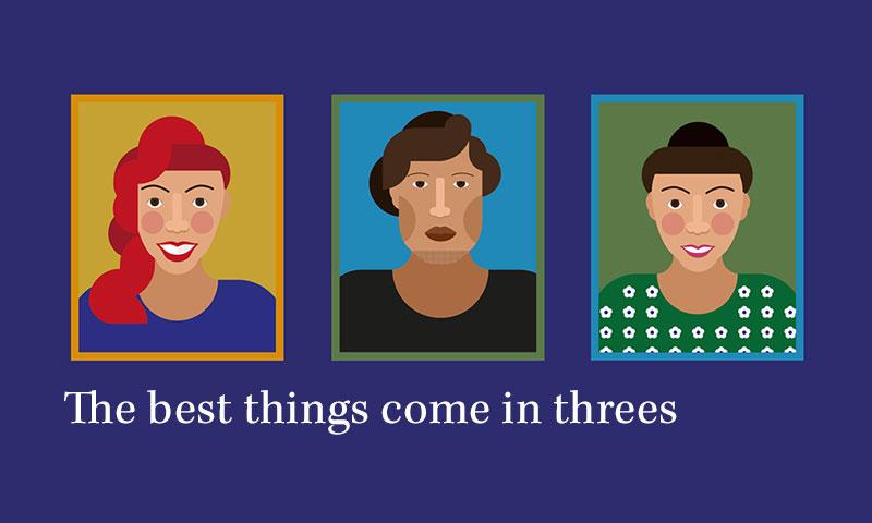 Hello trio