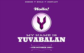 Portfolio of Yuvabalan
